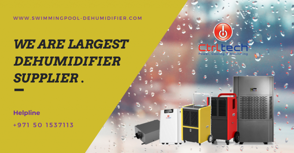 Dehumidifier supplier in Dubai, UAE.