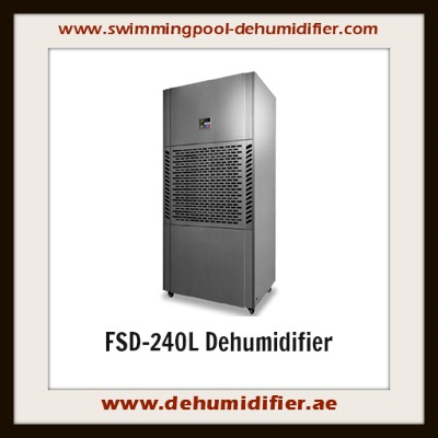 FSD-240L floor mounted dehumidifier to reduce humidity.