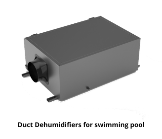 Duct Dehumidifiers for swimming pool.