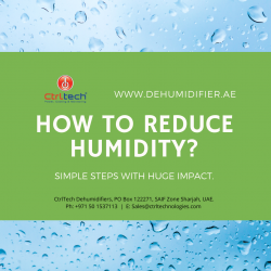 How to reduce humidity and dampness.
